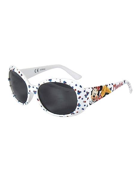 Minnie - Gafas de sol - para niña blanco Talla única: Amazon ...