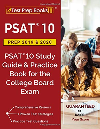 Pdf Test Preparation PSAT 10 Prep 2019 & 2020: PSAT 10 Study Guide & Practice Book for the College Board Exam