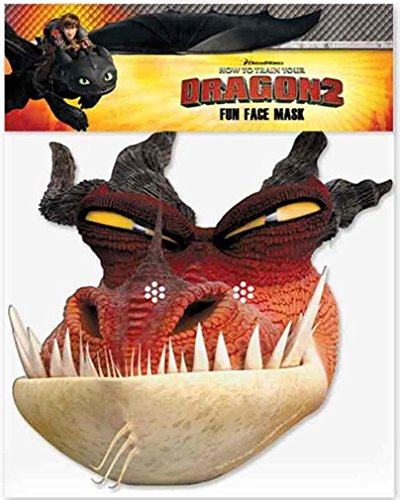 Monstrous Nightmare - Official How to Train Your Dragon 2 Face Mask ()