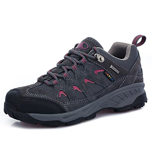 TFO Women Hiking Shoes California Waterproof Breathable Low Trekking Shoes for Hiker by