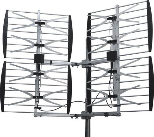 Xtreme Signal HDB8X 8-Bay VHF/UHF HDTV Bowtie Antenna ()