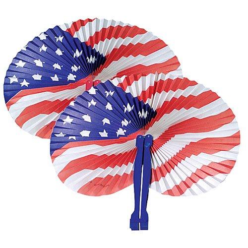 Shindigz Patriotic Fans (1 - Fan Patriotic Hand