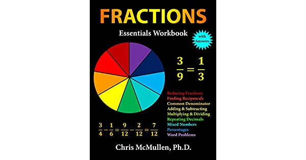 Fractions essentials workbook with answers english edition ebook fractions essentials workbook with answers english edition ebook chris mcmullen amazon loja kindle fandeluxe Image collections