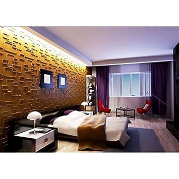 Pvc Textured 3d Wall Panels Durable Decorative 3d Wall Panels Eco Friendly Modern Design Glue Up Interior Wall Decor 10pc