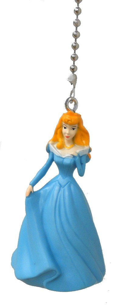 Disney classic movie princess Aurora SLEEPING BEAUTY Ceiling FAN PULL light chain
