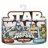 : Star Wars Galactic Heroes Jango Fett & Obi-Wan Kenobi Figure Set