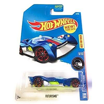 Hot Wheels 2016 Futurismo New Model 9/250 Metalflake Blue: Toys & Games