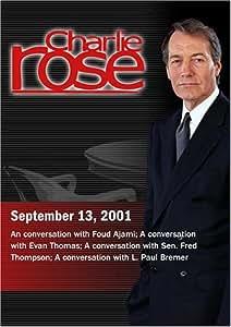 Charlie Rose (September 13, 2001)