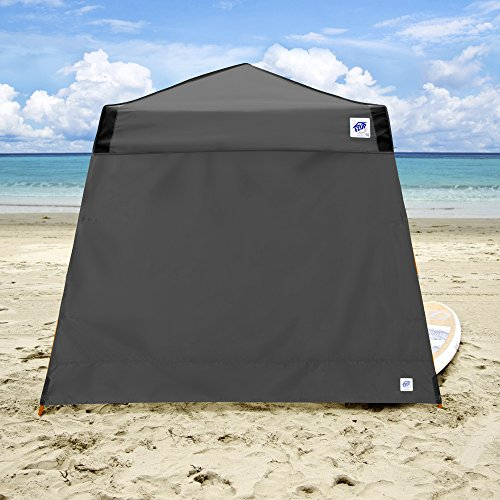 E-Z UP Recreational Sidewall Steel Grey – Fits Angle Leg 12 E-Z UP Instant Shelters