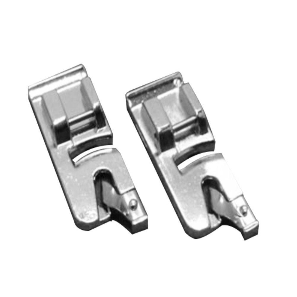 Tinksky Narrow Hem Presser Feet , 6mm + 4mm Snap-on Rolled Hem Narrrow Hem - 2pcs 4336999447