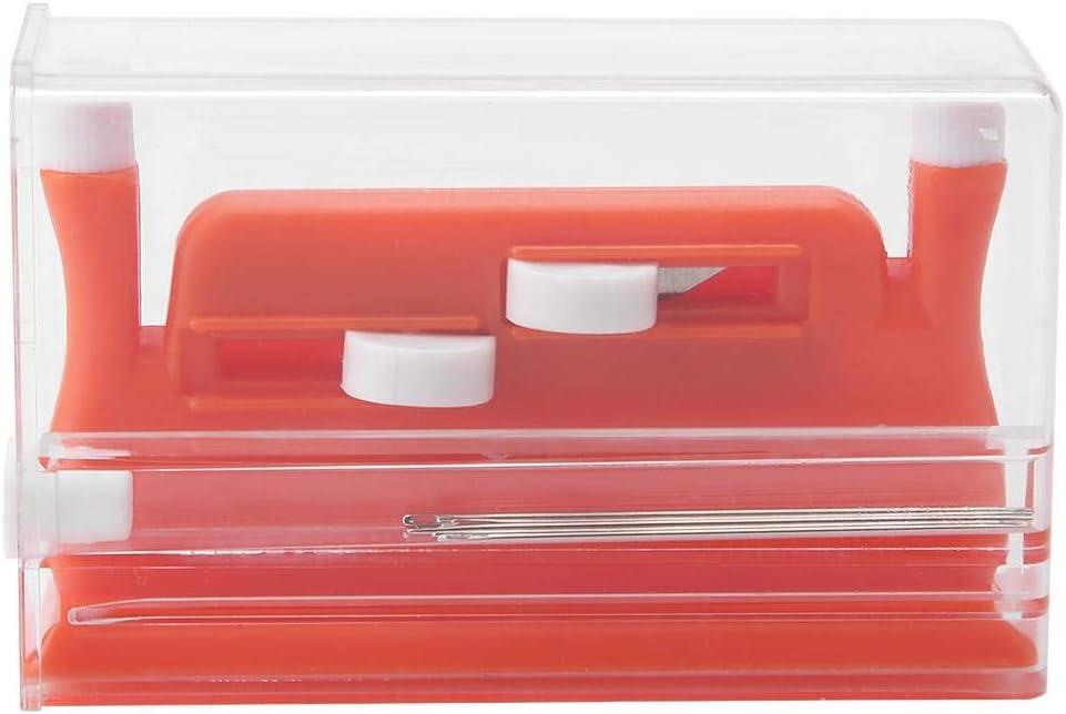 Enhebrador de aguja automático Enhebrador manual de aguja Herramienta de inserción de doble enhebrador de aguja para máquina Herramienta de inserción de aguja de coser