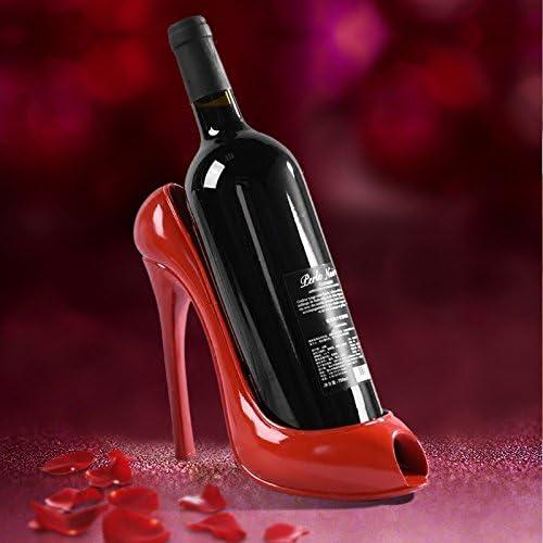 Kicode High Heel Shoe shape Wine Bottle Holder Stylish Wine Rack Accessorie
