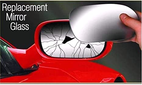 VW Eos 2006-2010 right driver off side convex mirror glass 2RS
