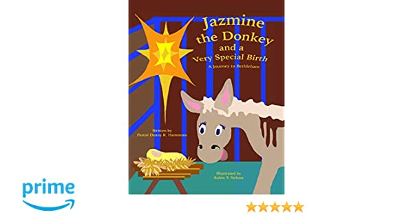 Jazmine the Donkey and a Very Special Birth: A Journey to Bethlehem (Donkeys in the Bible): Danny R Hammons, Robin T Nelson: 9780999874462: Amazon.com: ...
