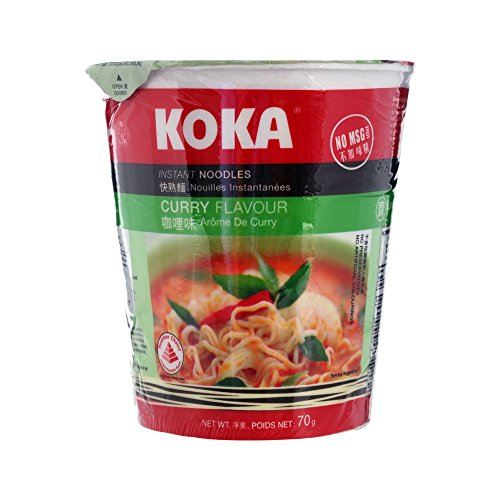 Price comparison product image Koka Instant Noodle Curry Flavor Cup 70g(2.46) (1 Cup)