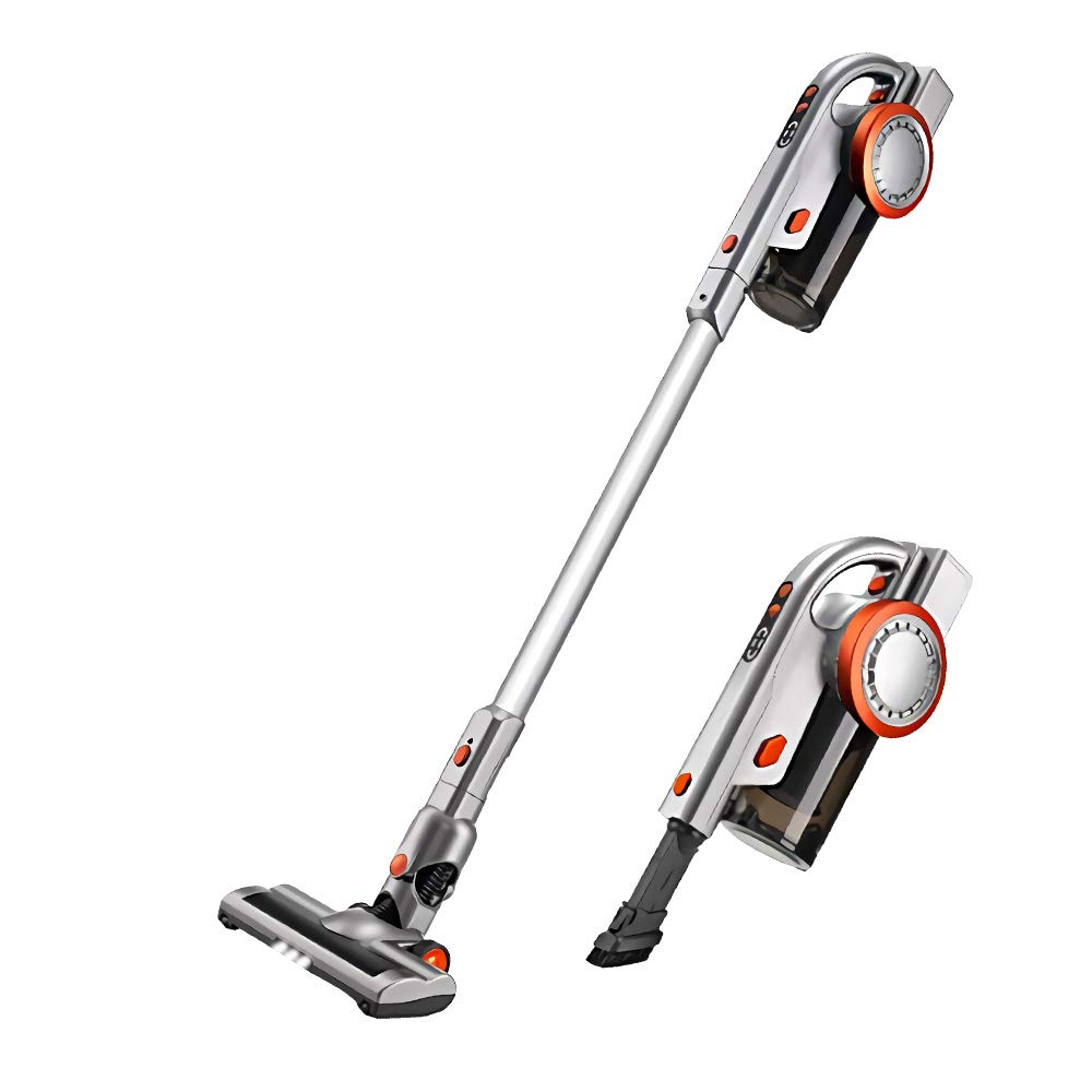PUPPYOO A9 Cordless Vacuum Cleaner, 17Kpa Power Suction Pro Brushless Motor  Lightweight Cordless Stick Vacuum with LED Brush & Wall-Mount