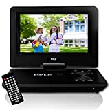 """Pyle 9"""" Portable DVD Player [Travel CD/DVD Player] Built-in Rechargeable Battery 