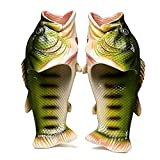 Dannly Animal Fish-Shaped Slippers Summer House Beach Sandals Shower for Men+US 8 Male
