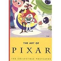 POSTCARD-ART OF PIXAR -OS