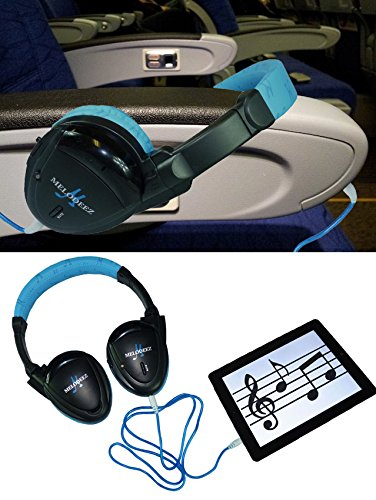 Three Wireless 2 Channel Fold Flat Infrared Rear Entertainment System DVD Player IR Headphones For In Car Listening With Case and 3.5mm Auxiliary Cord by Wisconsin Auto Supply (Image #3)