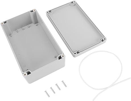 Caja de armario eléctrico IP65, Caja de conexiones eléctrica de plástico ABS, Caja de instrumentos de caja de proyecto exterior (200 * 120 * 75mm): Amazon.es: Bricolaje y herramientas