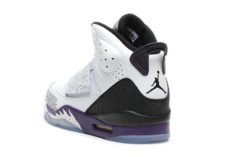 quality design e0f98 a14c8 Galleon - Nike Air Jordan Son Of Mars Mens Basketball Shoes White Club  Purple-Cool Grey-Black 512245-106-10