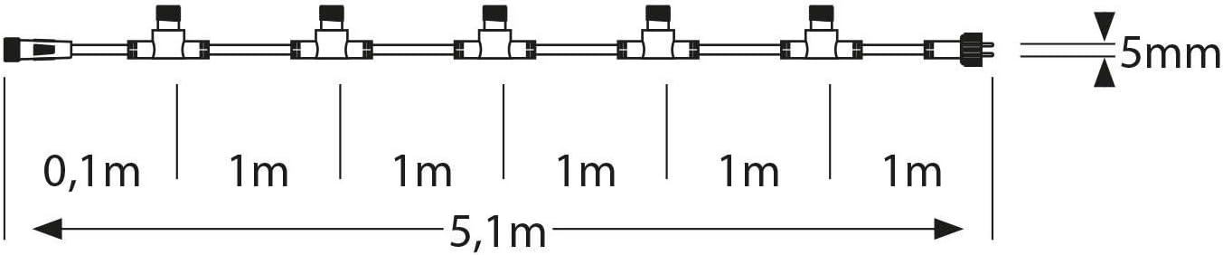 ledscom.de Conector s/éxtuplo para Sistema enchufable IP44 Nemo 2 UDS