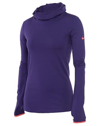 f36b7276 Amazon.com : Nike Pro Hyperwarm Fitted Infinity Women's Shirt Womens ...