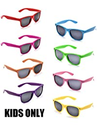 Neon Colors Party Favor Supplies Unisex Sunglasses Pack...