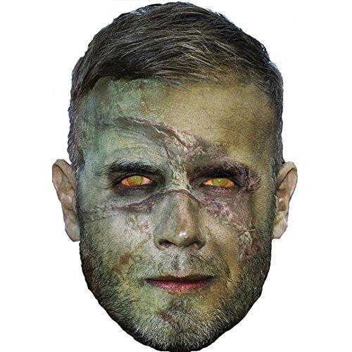 (Gary Barlow Halloween Celebrity Mask, Card Face and Fancy Dress)