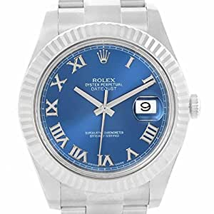 Rolex Datejust II automatic-self-wind mens Watch 116334 (Certified Pre-owned)