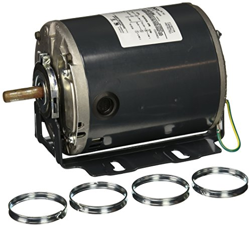 Marathon B400 48Y Frame Totally Enclosed 48S17D997 Attic Fan Motor, 1/3 hp, 1800 RPM, 115 VAC, 1 Split Phase, 1 Speed, Ball Bearing, Resilient Base ()