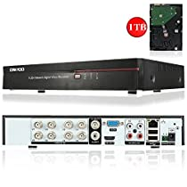 OWSOO 8CH Full 960H/D1 H.264 HDMI P2P Cloud Network DVR Digital Video Recorder with 3.5