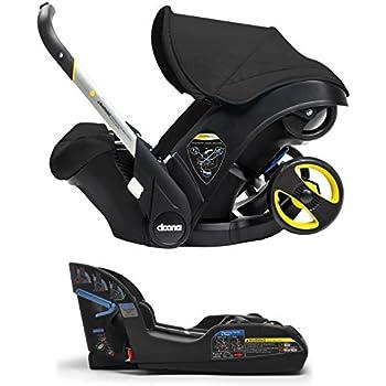 Doona Infant Car Seat & Latch Base – Night (Black) – US Version