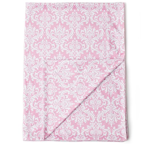 Pink Velour Receiving Blanket - Kids N' Such Minky Baby Blanket 30