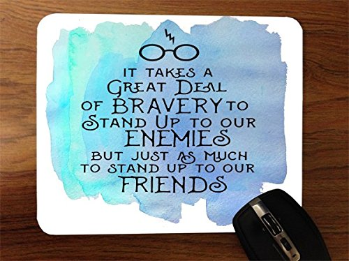 Inspirational Quote Design Print Image Desktop Office Silicone Mouse Pad by Trendy Accessories