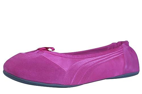 Puma Travel Ballerina SuedeMujeres - Zapatos - Fucsia  Amazon.es  Zapatos y  complementos 91c0d4e6e9f55