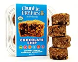 Chunkie Dunkies RAW VEGAN Chocolate Chip Cookies 4 Packs (16 oz)