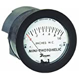 Dwyer Mini-Photohelic Series MP Differential Pressure Switch/Gauge, Range 0-10