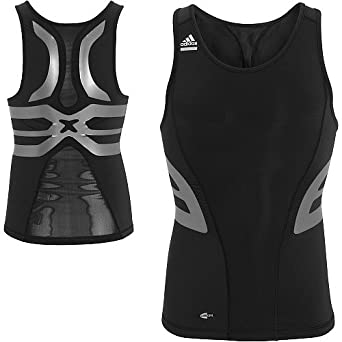 Adidas Techfit Compression Powerweb Large Vest Sleeveless Xxx rrHORPFqw