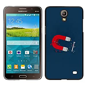 EJOY---Cubierta de la caja de protección para la piel dura ** Samsung Galaxy Mega 2 ** --Imán y uñas divertido