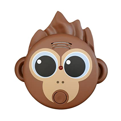 Detector de humo Animales Mono, detectores de humo en forma con un mono