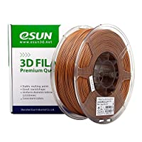 eSUN 1.75mm PLA PRO (PLA+) 3D Printer Filament 1KG Spool (2.2lbs), 19 Colors to Choose (Light Brown) from ESUN