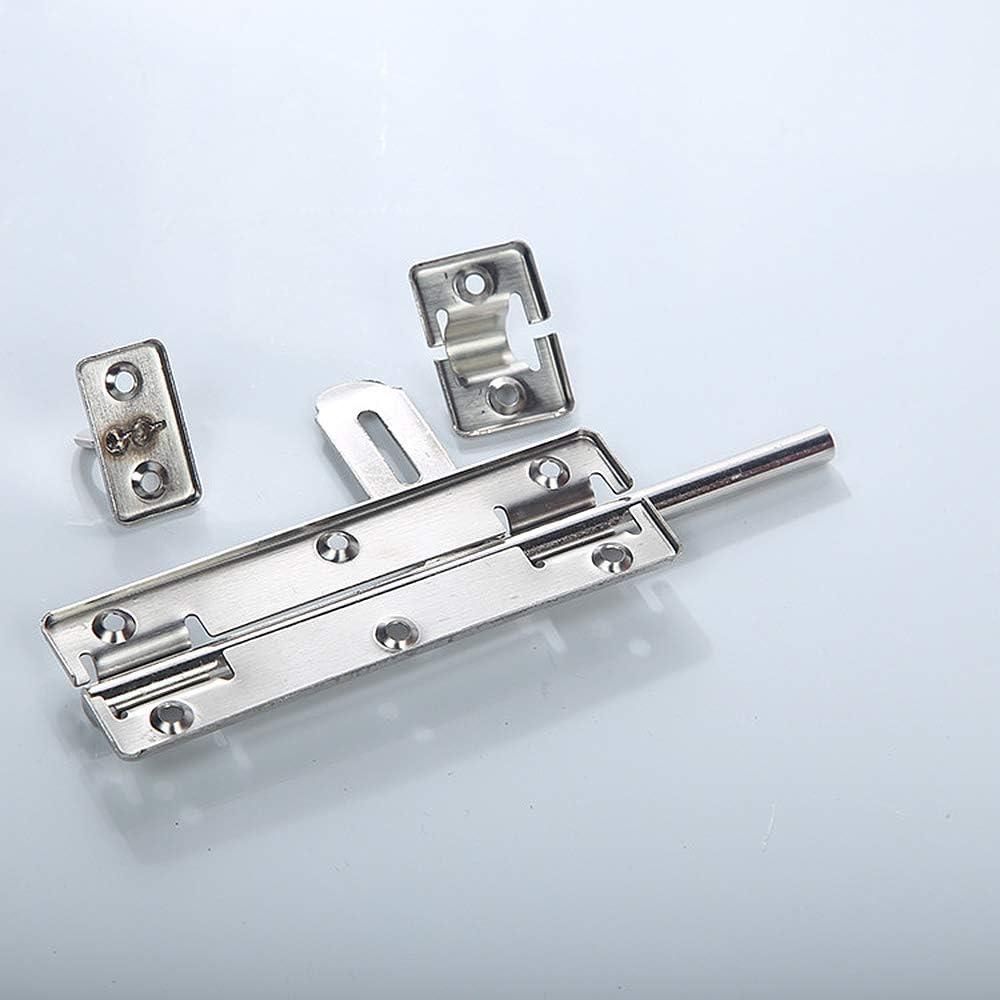 serratura antifurto per giardino Chiavistello scorrevole in acciaio inox da 15,2 cm per porta di sicurezza magazzino gate e animali domestici
