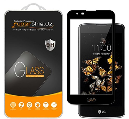 Supershieldz for LG Phoenix 2 Tempered Glass Screen Protector, [Full Cover] [3D Curved Glass] Anti-Scratch, Bubble Free, Lifetime Replacement Warranty - Glasses Phoenix