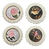 HomeRoots Decor Traditional Metal Plate Wall Decor