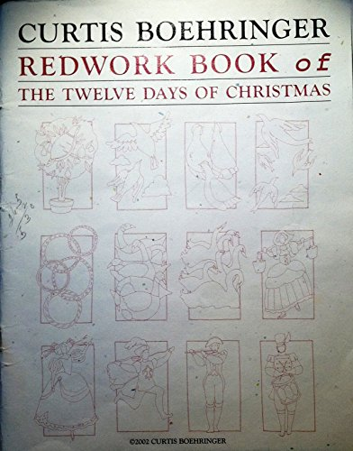 Redwork Book of the Twelve Days of Christmas