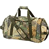 """ZIZI SPORTS SUPPLY 19"""" Camo Duffle Shoulder Bag Water Resistant Gym Camouflage Travel Gear Carry On"""