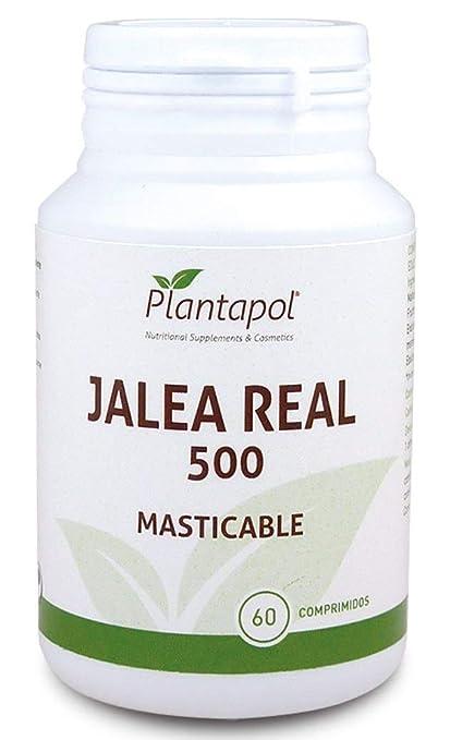 Jalea Real 60 comprimidos masticables de 565 mg de Plantapol