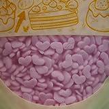 Natural PinkGluten GMO Nuts Dairy Soy Free Confetti Mini Hearts Bulk Pack.